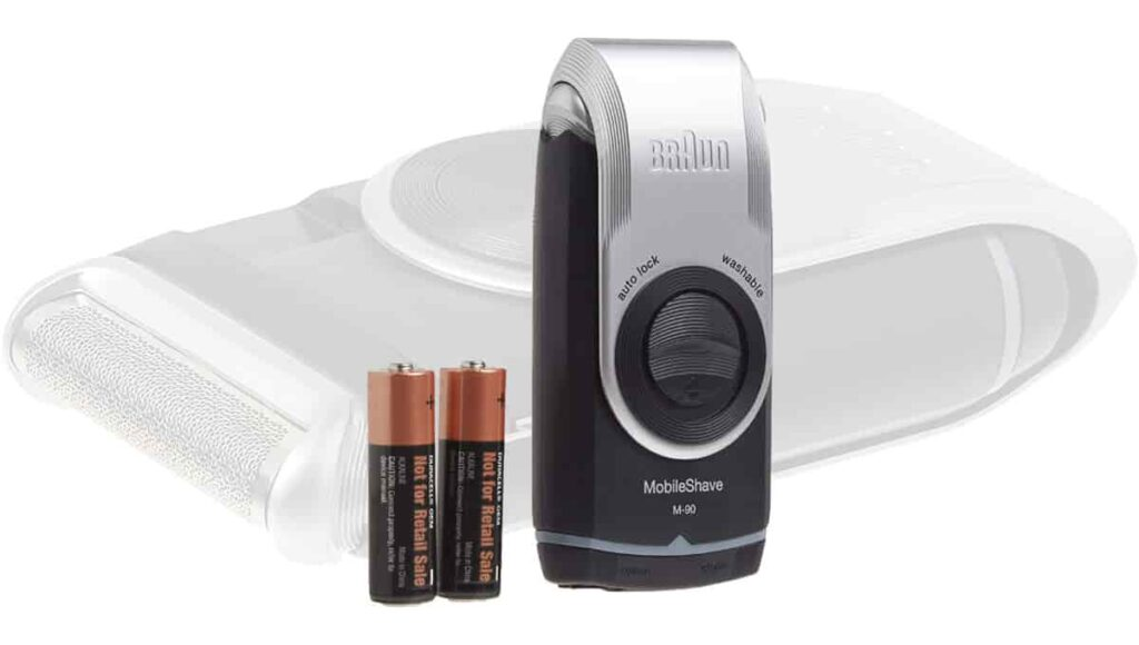 Braun M90 Mobile Shaver Review