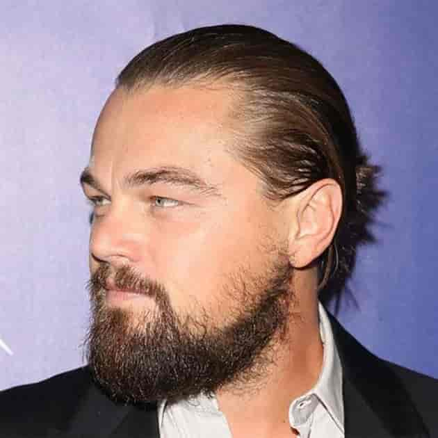 DiCaprio long Beard style