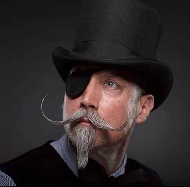 ali baba beard and mustache style