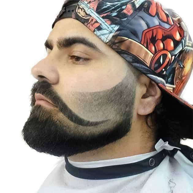 bafellow shade beard style