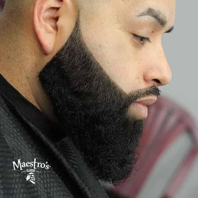 Curved Full Medium Beard