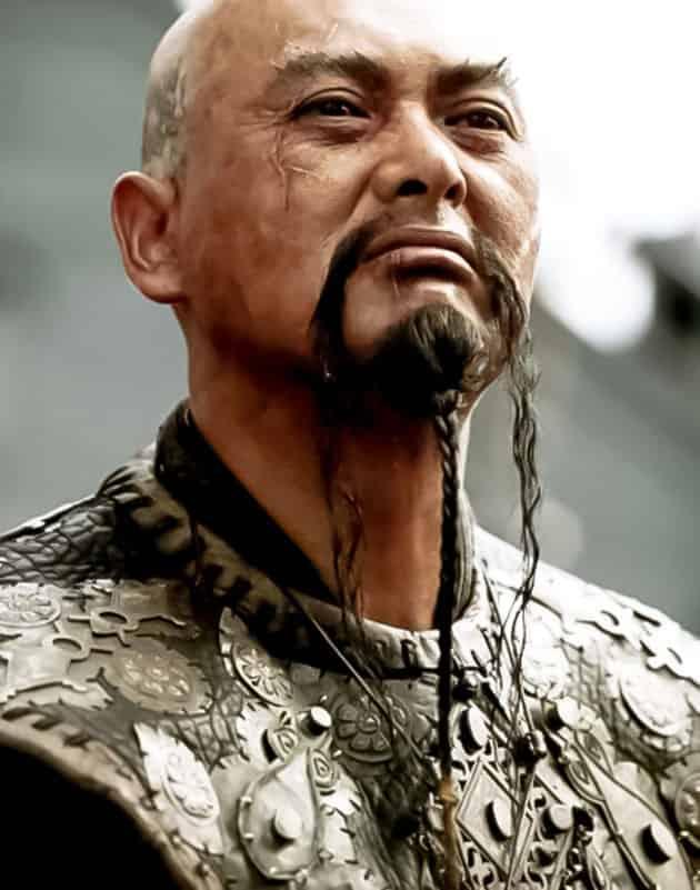 Fu Manchu fancy beard style