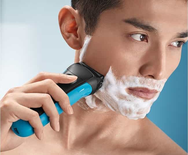 Using an Electric small-scale fry is non a fashion Braun Series iii 310s Electric Razor Review