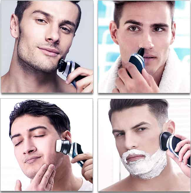 Hatteker is non an onetime construct exactly taking client Hatteker Electric Shaver For Men – Wet Dry Shaver