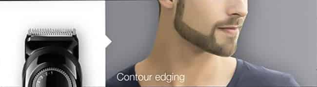 edging your beard