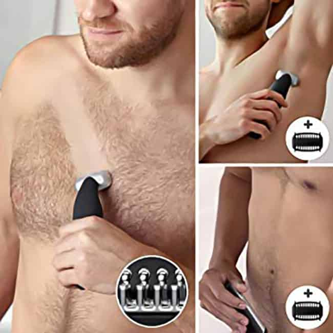 Removing unwanted hairs from the torso is essential for sophisticated men Philips Norelco Bodygroom 3500 Review – Bodygroomer BG5025/49