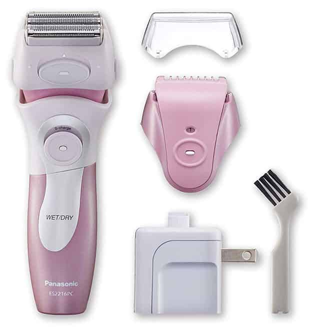 Unboxing Panasonic ES2216PC electric ladies shaver