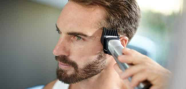 hair clipping with Philips Norelco Multigroom 9000