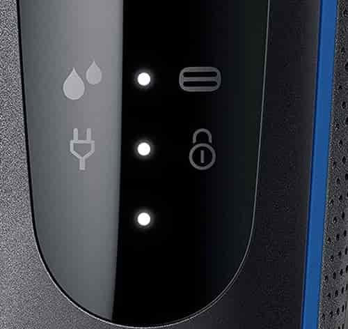 Braun Series 5 5020s LED display