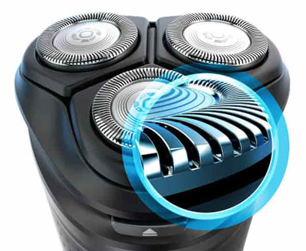 How Looks the Philips Series 3000 Shaver ComfortCut Blades
