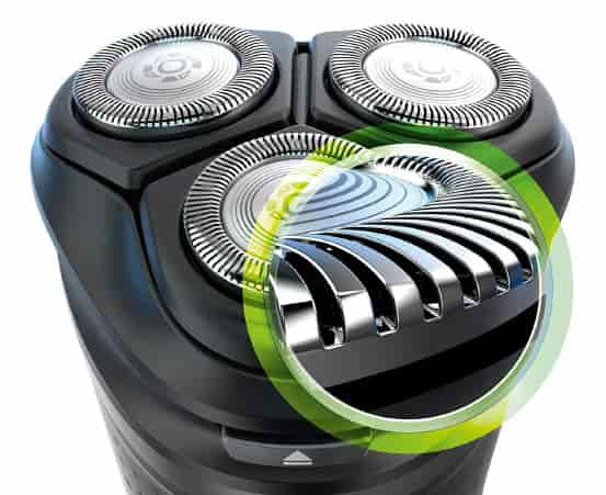 ComfortCut blade technology of Philips Norelco 2300 shaver